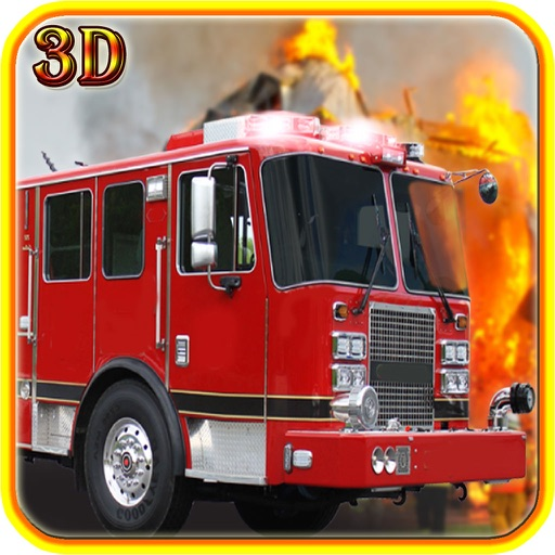 Fire Truck Driving 2016 Adventure Pro – Real Firefighter Simulator with Emergency Parking and Fire Brigade Sirens iOS App