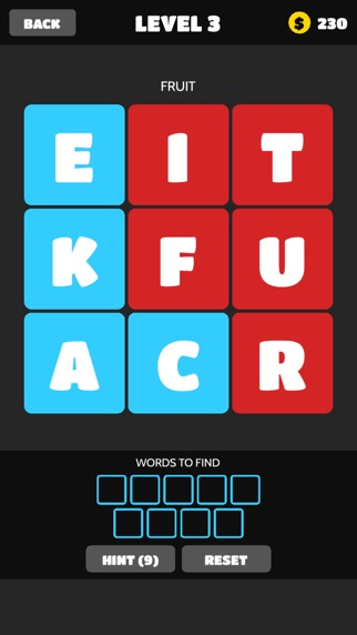 word crush christmas brain puzzles free by mediaflex games screenshot on ios - Christmas Puzzles Free