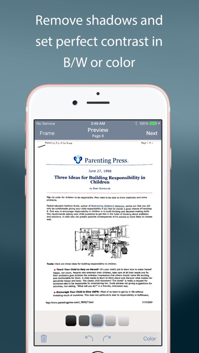 download TurboScan™: document scanner appstore review