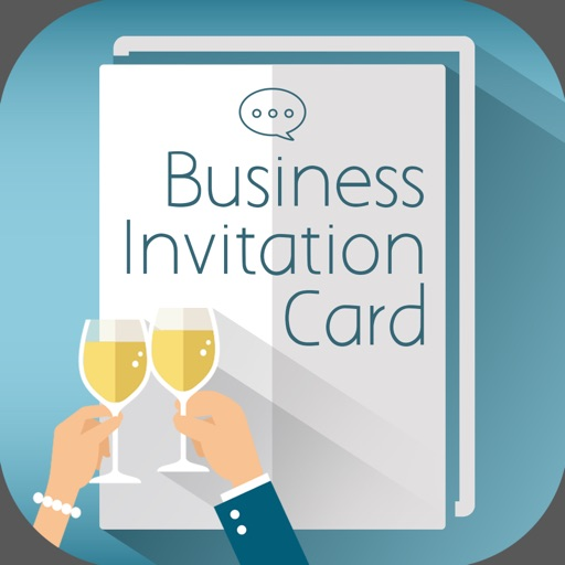 Formal Business Invitation Cards – e-Card Maker & Invitations For Special Occasion.s Icon