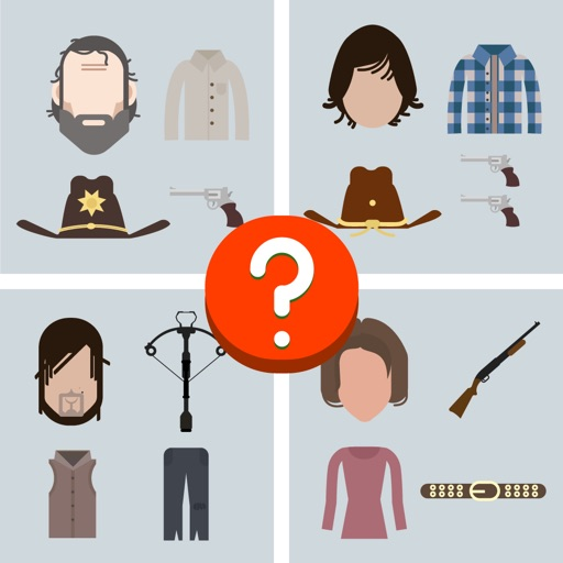 Guess The Characters for TWD Fans iOS App
