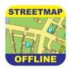Kraków (Poland) Offline Street Map