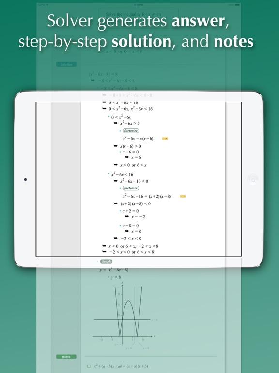 FX Algebra Solver - AppAddict