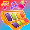 Acordes do Bebê: Aplicação de jogos de instrumentos musicais educativos para bebés e crianças com músicas de karaoke gratis no piano, canções de embalar, e música de natal