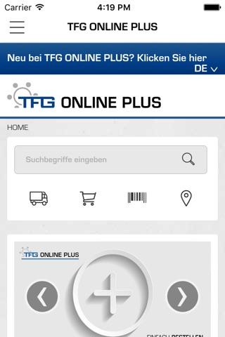 TFG screenshot 1