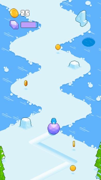 Screenshot of Snow Roll3