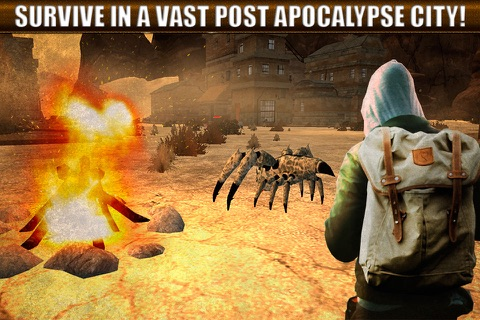 Nuclear Badlands Survival 3D Full screenshot 1