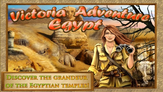 Hidden Objects: Victoria in Egypt - Cheops Pyramid Screenshot