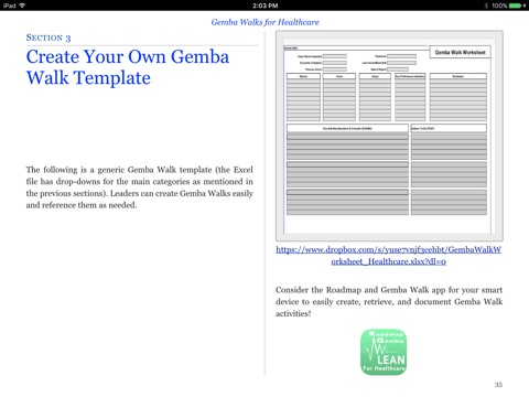 Gemba walks for healthcare by todd sperl on ibooks screenshot 3 pronofoot35fo Choice Image