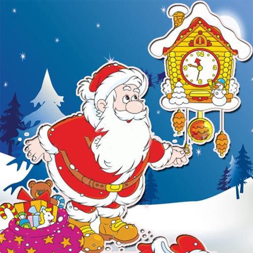 christmas countdown begins 2017 advent calendar icon