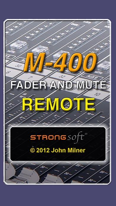 M-400FM Remote