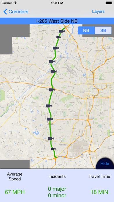 Georgia Atlanta Traffic On The App Store - Georgia map traffic