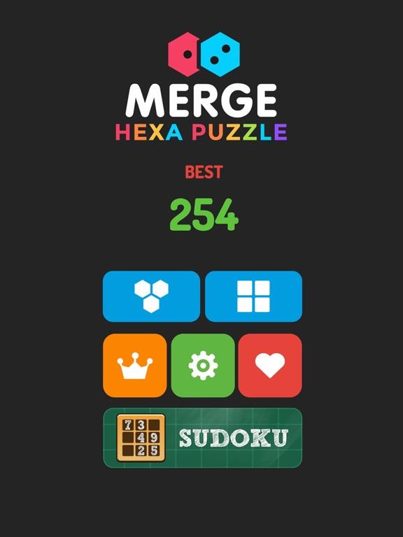 Merge Hexa Puzzle - Merged Block & Sudoku Quest для iPad