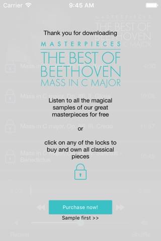 Beethoven: Mass in C major screenshot 2