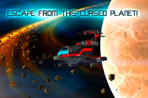Mars Survival 3D: Cosmic Crash screenshot 4