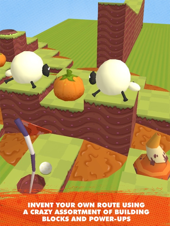 Shaun the Sheep - Puzzle Putt Screenshots