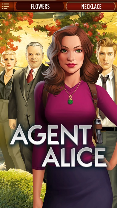 Screenshots of Agent Alice for iPhone