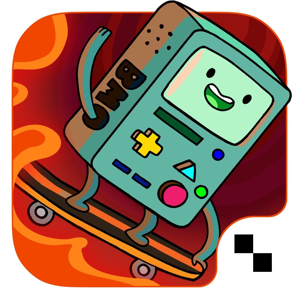 Ski Safari: Adventure Time - Время приключений - захватывающая бесконечная поездка по горным склонам с Финном и Бимо