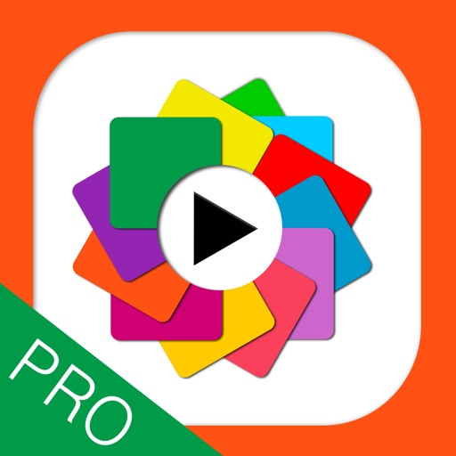 PicsVideo Pro Slideshow of photos, text and music and post to Instagram