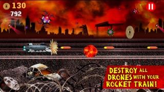 ロケット列車の戦い:列車対ロボット / Battle Trains Rocket Railroad: Subway Rail Surfers Rush & Run Train Gameのスクリーンショット2