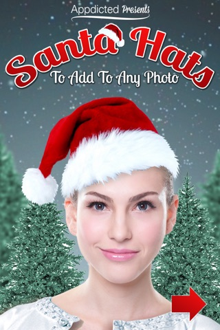 Santa Hats - Virtually add Santa Hats, Beards and Even Santa to your photos screenshot 1