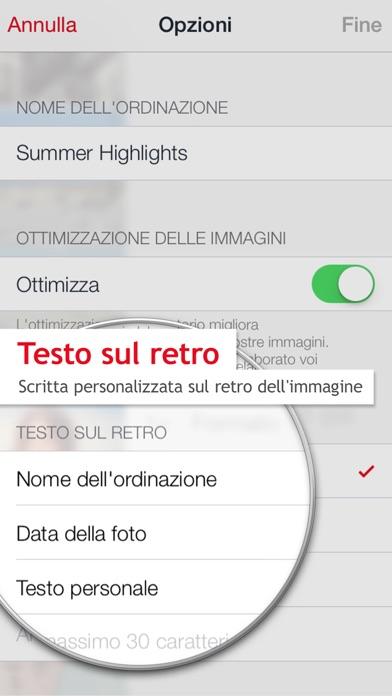 Screenshot of ifolor Foto digitali5
