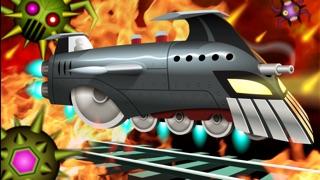 ロケット列車の戦い:列車対ロボット / Battle Trains Rocket Railroad: Subway Rail Surfers Rush & Run Train Gameのスクリーンショット1
