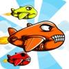 Adrenaline Crush - 卡通飛機飛行員在天空中