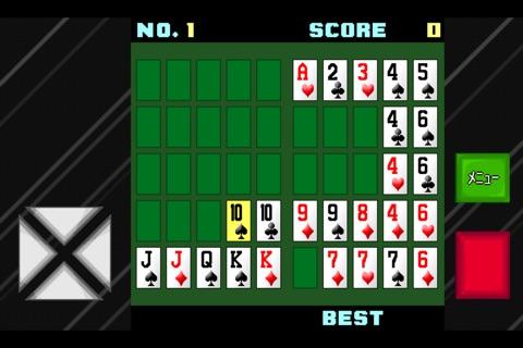 戦略ポーカーソリティア screenshot 1