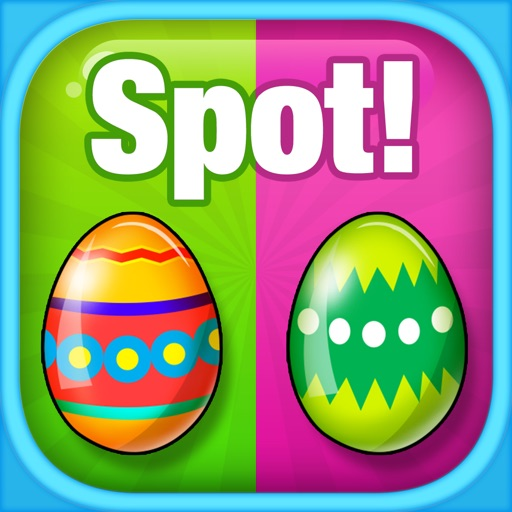 Spot Easter Eggs! Find the Differences: Kids & Toddlers Game iOS App