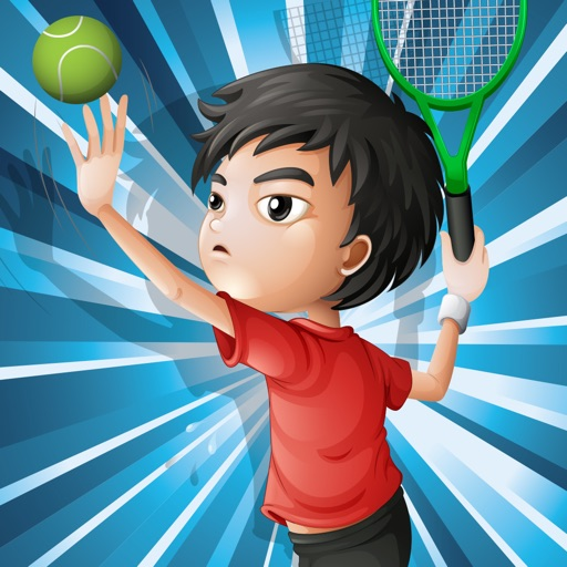 Ace the game! Learn and play on a tennis court for children iOS App