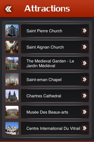 Chartres Offline Travel Guide screenshot 3
