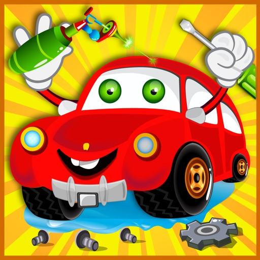 Mechanic Car Garage & Spa – Make speedy Automobile in Kids Auto Repairing Work Shop and Washing Salon iOS App
