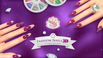 Screenshot of 3D Unghie di Moda - Giochi per Ragazze: Crea Fantastici Disegni di Unghie nel tuo Salone di Bellezza1