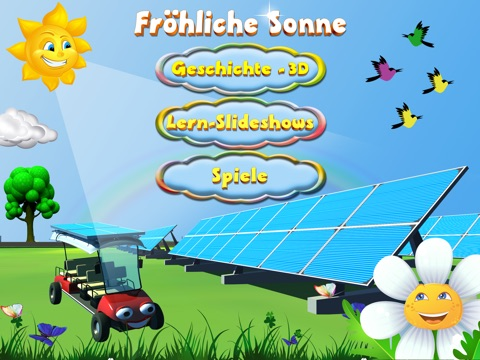 Frohliche Sonne for iPad screenshot 1