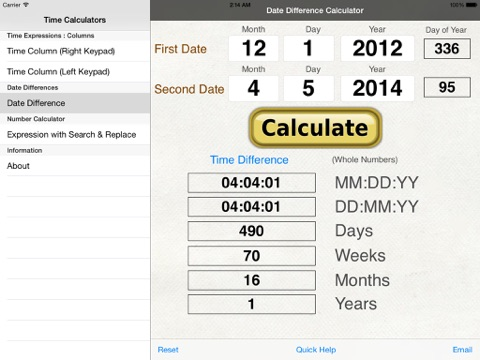 Download Time Calculator - calculate download time