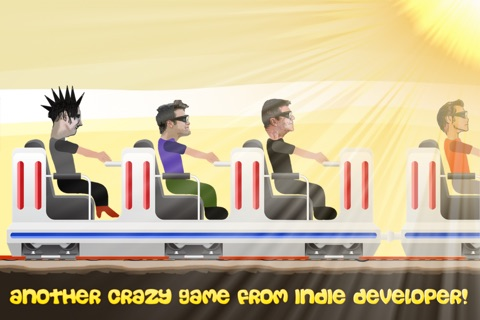 Celeb Rush - Crazy Ride with a Celebrity and the Roller Coaster screenshot 2