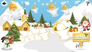 婴儿及儿童学习排序的圣诞动物按大小:教育游戏屏幕截图2