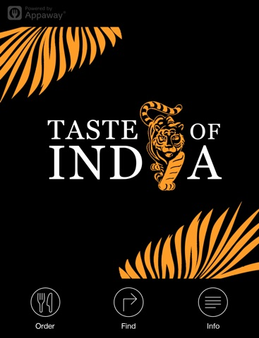 Taste of India, Brentwood - For iPad screenshot 1