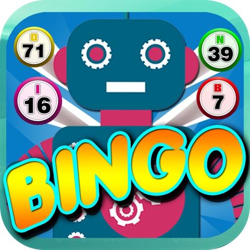 Robot Bingo Blast - The Bingo Game to Play With Friend! iOS App