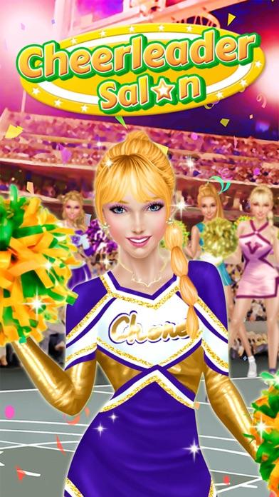 Cheerleader Salon™ Basketball Madness Makeover screenshot four