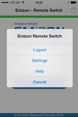 Emizon Remote Switch screenshot 4