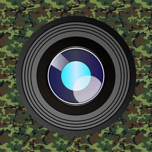 静音対応・カモフラージュカメラ