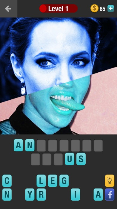Guess Celebrity Mashup: a challenging trivia quiz game screenshot one