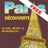 París descubriendo gratuito - planos, metros & monumentos