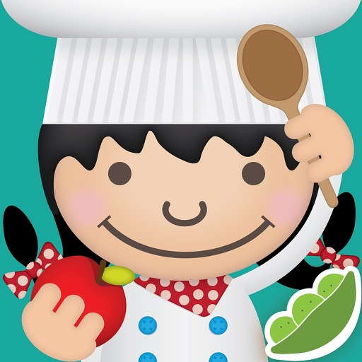 ABC Food – food words with pictures, sounds and videos for kids.