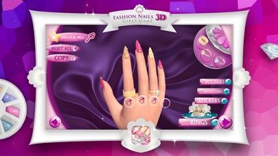 Screenshot of 3D Unghie di Moda - Giochi per Ragazze: Crea Fantastici Disegni di Unghie nel tuo Salone di Bellezza2