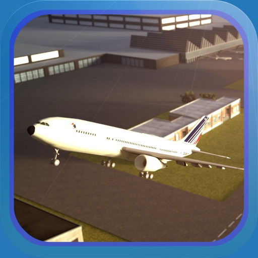 Plane Simulator PRO - landing, parking and take-off maneuvers - real airport SIM