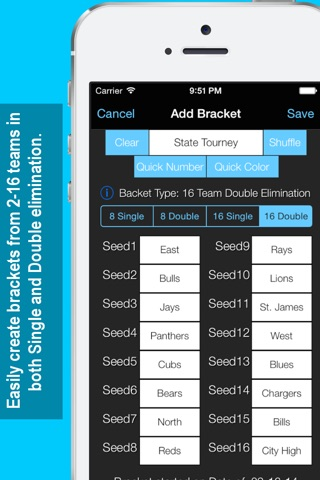 Bracket Maker screenshot 2