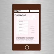 Business Mobile Website Templates for HTML Egg